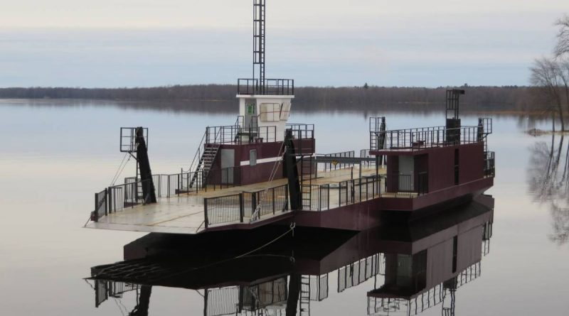 The Quyon Ferry will be open for its first full week of the season this week. Courtesy the Quyon Ferry