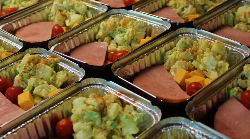 Another delivery of delicious meals, smoked apple ham and potato salad, ready for those in need courtesy the Baylicious Baykery's Jeanne Gauthier and the Constance Bay community. Courtesy the Baylicious Baykery
