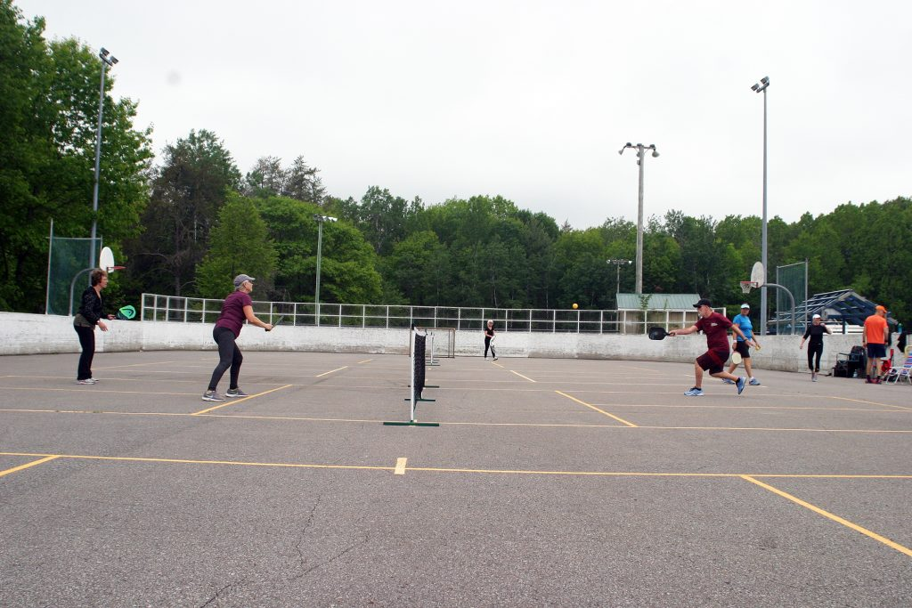 Pickleball was one of the few sports permitted by the Ontario government in Phase 1 of the province's plan for recovery from the pandemic.  Photo by Jake Davies