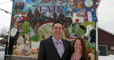 Carp Fair 2020 presidents Ryan Foley and Patricia Boyd. Boyd spoke with West Carleton Online about the difficult decision to cancel this year's fair. Photo by Jake Davies