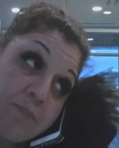 The OPS are looking for this female suspect in related to the identity theft. Courtesy the OPS
