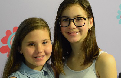 Caitlyn and Isabelle Guibord are celebrating their 12th birthday today and their Eganville grandparents want to wish them the best. Courtesy Katie Guibord