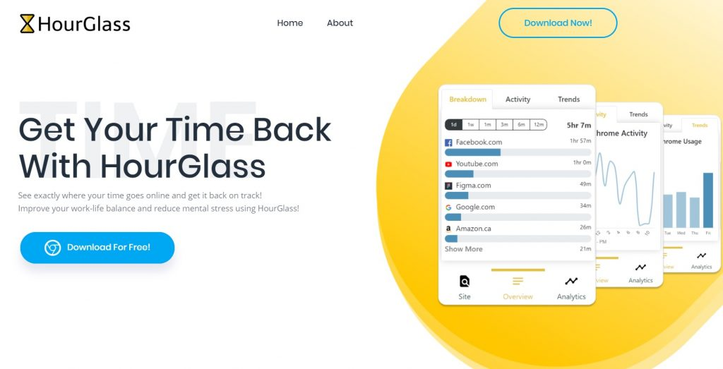 HourGlass will track your online productivity as you try to separate that work-life balance.