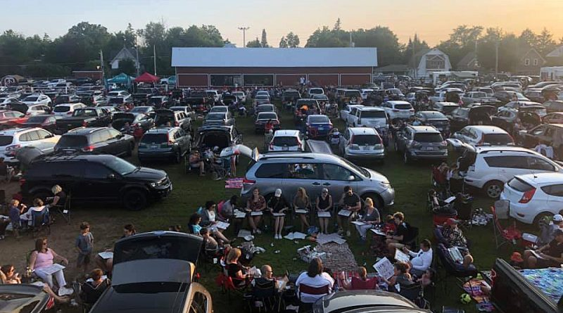 Last year's Carp Fair Drive-In Bingo, was one of the biggest in the event's 66-year history. It also served as a fundraiser for the Engelberts family. Courtesy the Carp Agricultural Society