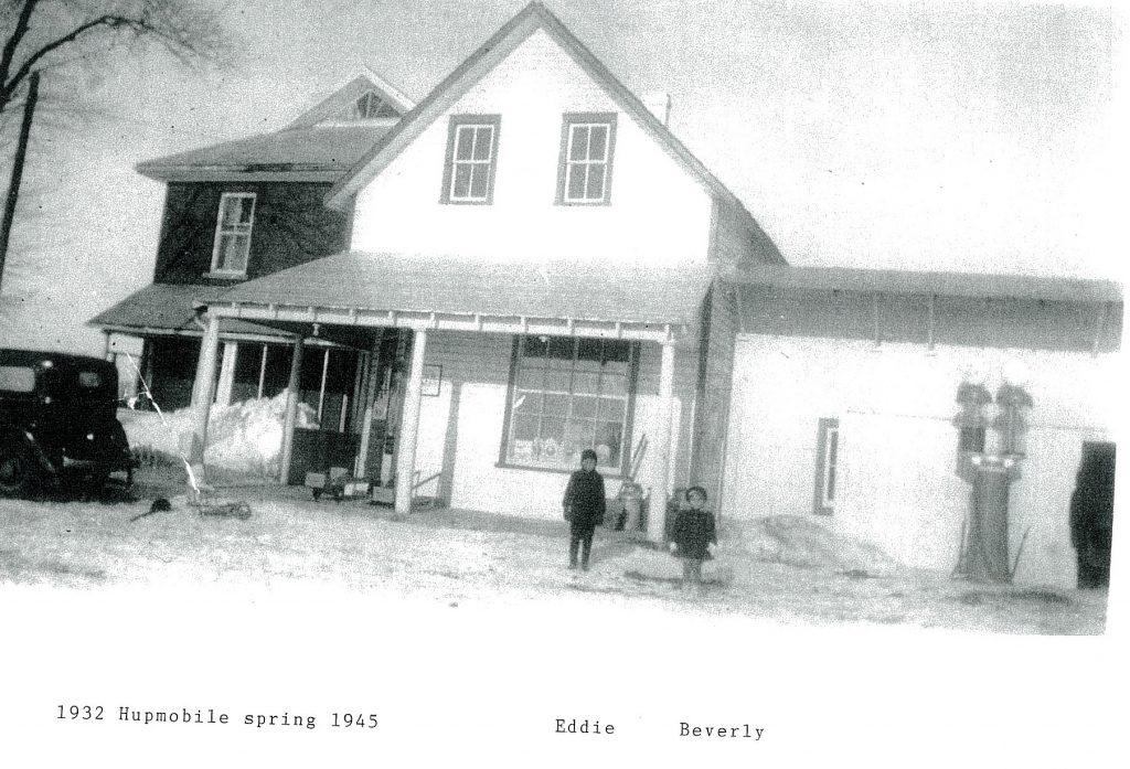 Wanda Clark's grandparents' general store on Carp Road. Courtesy Wanda Clark