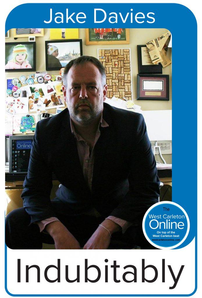 A column header for Jake Davies