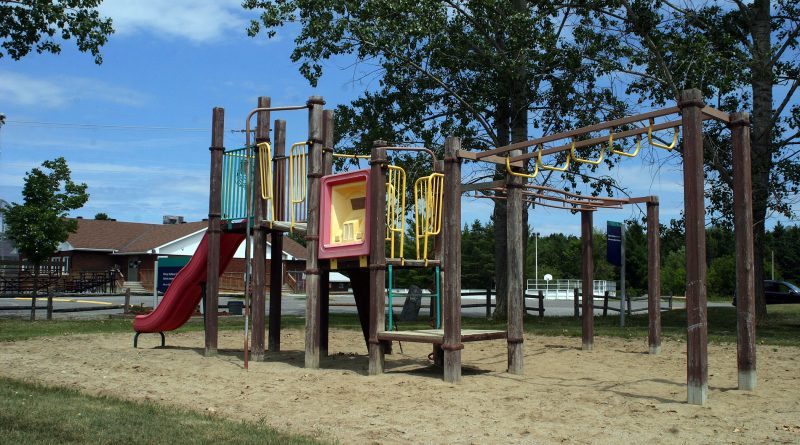 Fitzroy Harbour's play structure is considered to be at the end of its life cycle. City staff are in the design phase on a new one and will also be replacing the junior play structure not pictured. Photo by Jake Davies