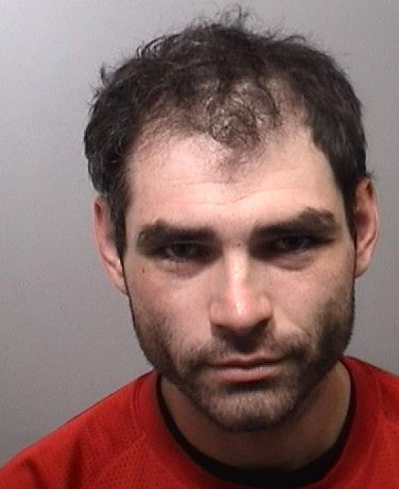Shane Sabourin of Carleton Place is wanted by police. Courtesy the Lanark OPP
