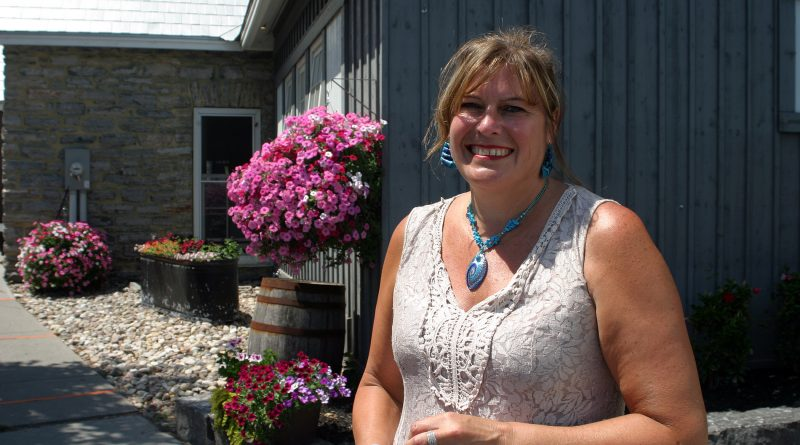 Real Estate broker Wanda Clark's roots run deep in West Carleton. Photo by Jake Davies