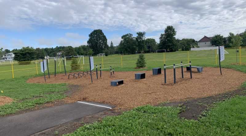 The Carp Fitness Park has been built and is now awaiting its official debut, Sept. 26. Courtesy CHA