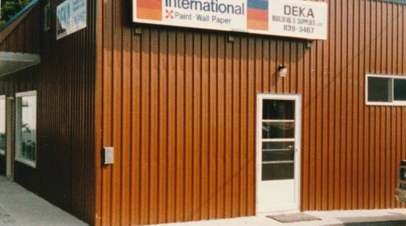 A photo of the original DEKA Home Building Centre in Carp taken in 1985. Courtesy Scott Langstaff