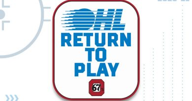 The OHL and Ottawa 67's are expecting to return to play on Dec. 1, Courtesy the 67's