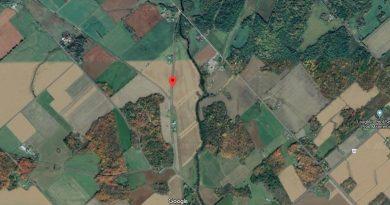 The Rabbit Path (see orange dot) near Kinburn will be getting some TLC this week. Courtesy Google Maps