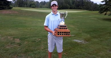 Eagle Creek's Ty Rouse won the OVGA Match Play Junior Championship earlier this week. Courtesy the OVGA
