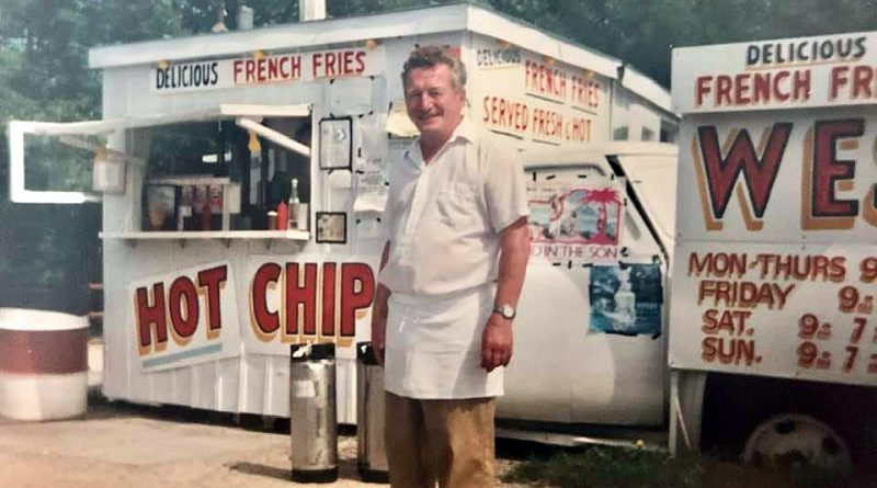 Wes' Chips founder Wes Dodds passed away Sunday at the age of 84. Courtesy Kevin Dodds