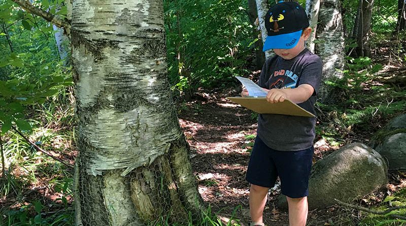 The Festival of the Wild Child Scavenger Hunt is set for Aug. 29. A great opportunity for kids to connect with nature as this photo from last year's event attests. Courtesy the Festival of the Wild Child