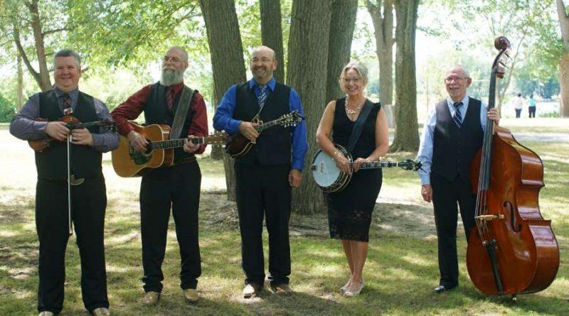 The band CR5 Bluegrass