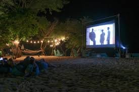 The ultimate date night, movies and massages, at the Village Sanctuary next Tuesday. Courtesy the Village Sanctuary