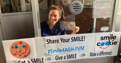 The Almonte Tim Horton's has contributed more than $40,000 to the AGH FVM Foundation through Smile Cookie campaigns.