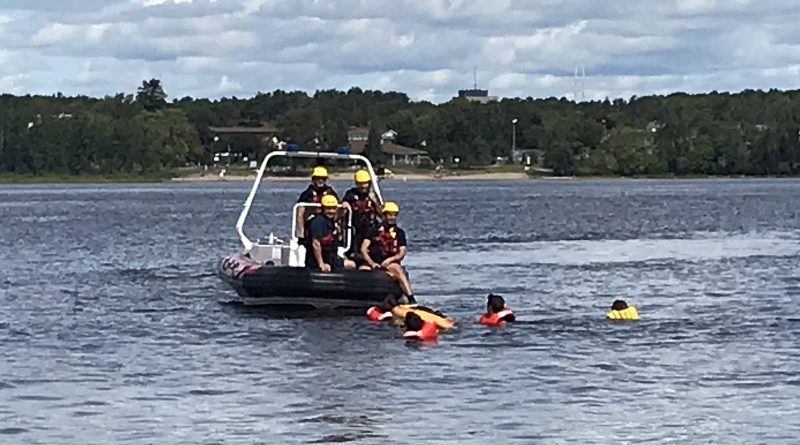 Firefighters rescue kayakers Sunday afternoon