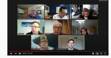 Image of today's ARAC Zoom meeting.