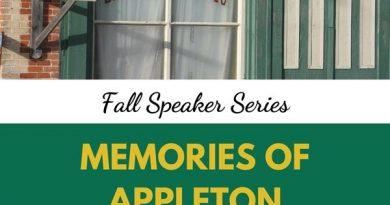 Memories of Appleton poster.