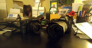 A photo of two cameras