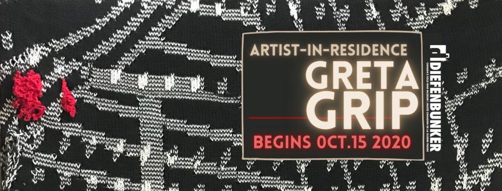 Greta Grip show poster.