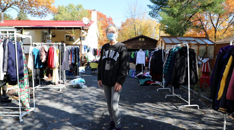 Trish St. Croix hosted last Saturday's Savvy Seconds pop-up shop in her Constance Bay driveway.