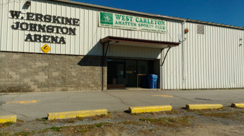 A photo of the W. Erskine Johnston arena in Carp.