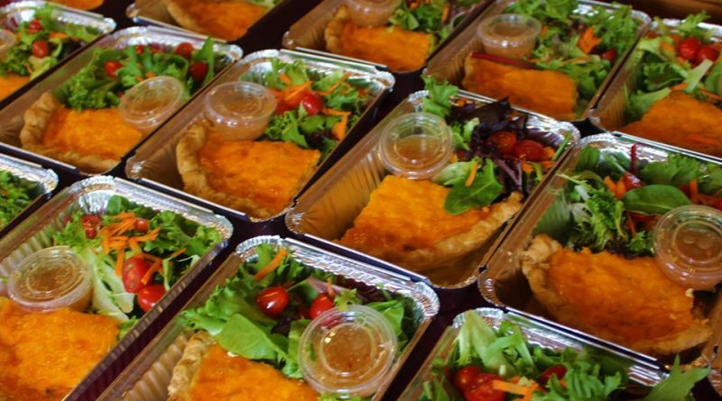 A photo of some of the meals the Baylicious Baykery has donated to seniors and the immune comprimised.