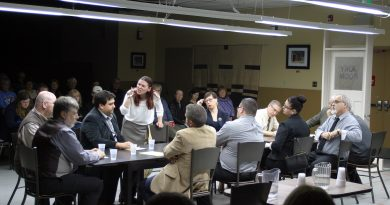 A photo of the RRTC's production of 12 Angry Jurors.