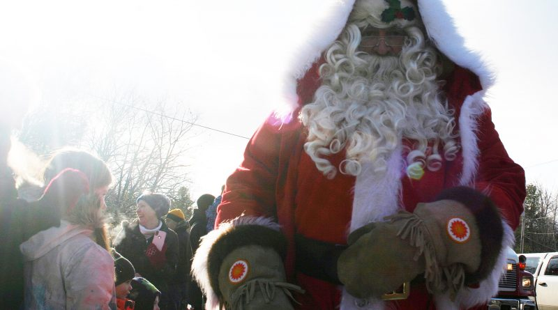 A photo of Santa Claus from last year's Santa Day in the Bay.