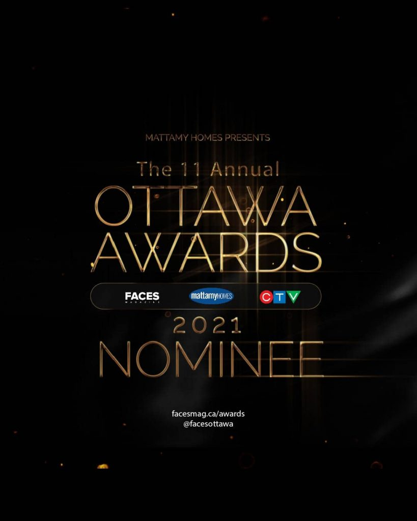 Faces Awards nomination poster.