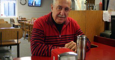 Eli El-Chantiry at the Lighthouse Restaurant.