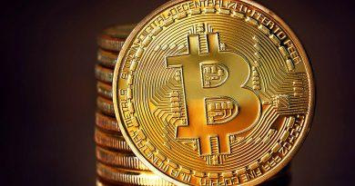 A photo of a Bitcoin