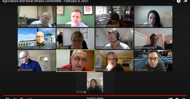 A screenshot of yesterday's ARAC meeting.