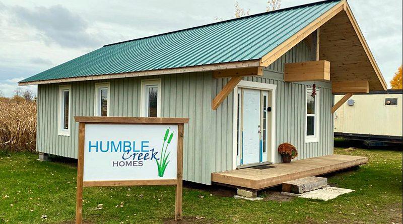 A photo of Humble Creek Homes' Carp Road office.