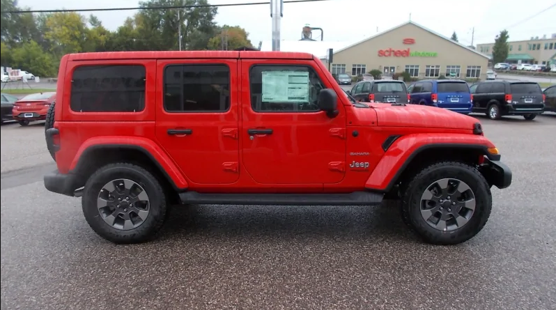 A photo of the jeep.