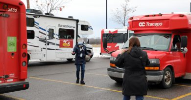 A photo of last fall's flu clinic held at the West Carleton Community complex.