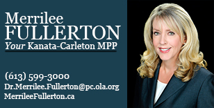 An ad for MPP Dr. Merrilee Fullerton.