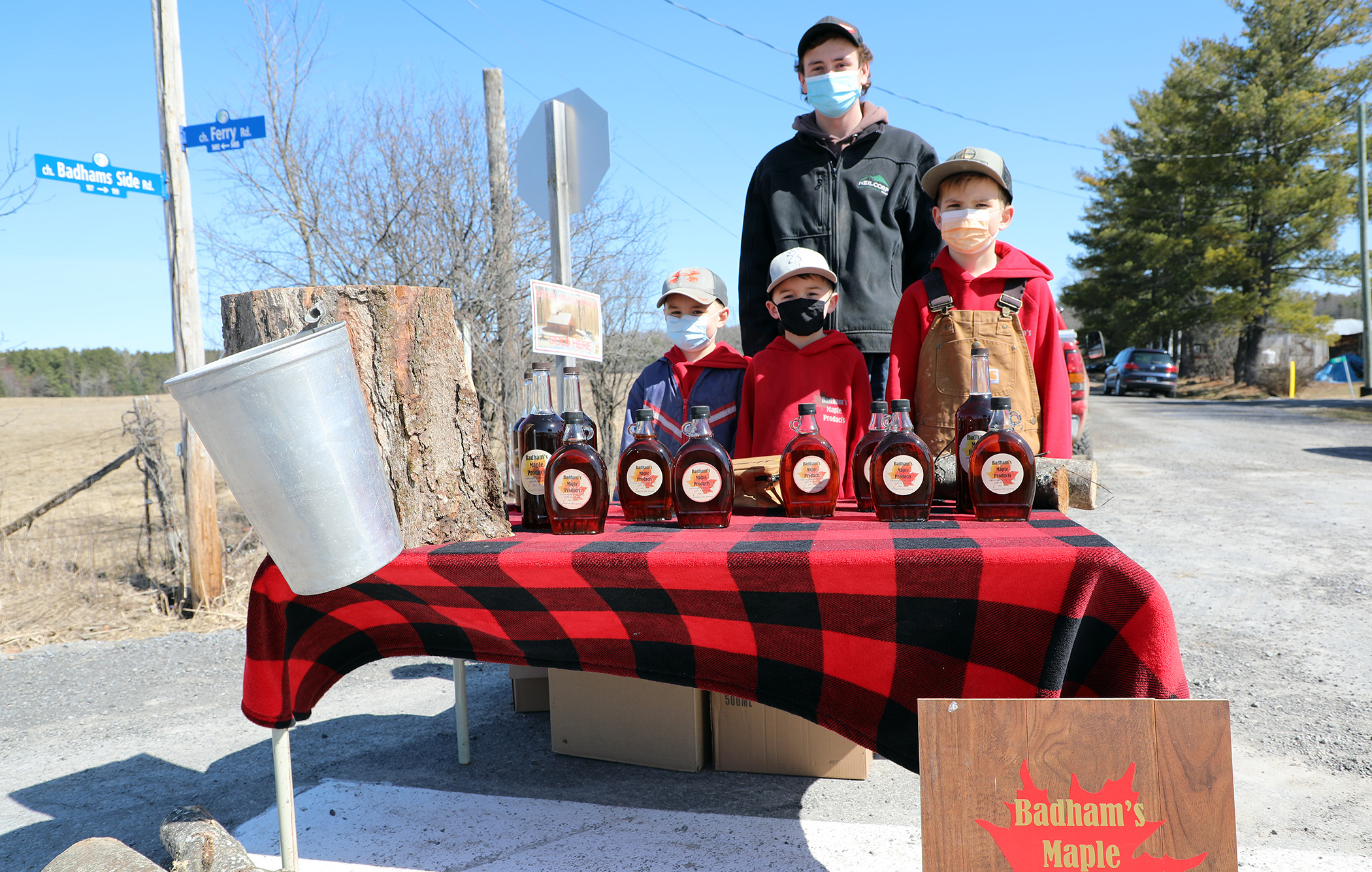 Six generations of Badham maple syrup