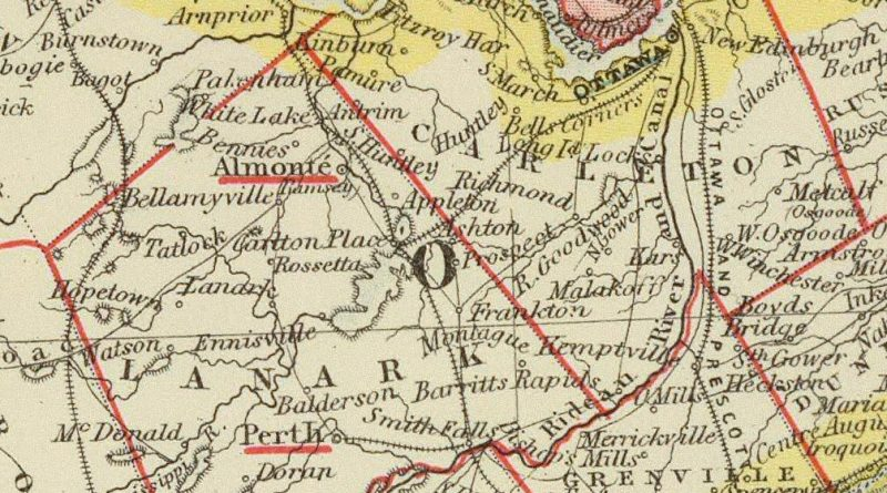 A photo of map of Corkery.
