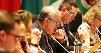 Coun. Eli El-Chantiry at council from 2019.