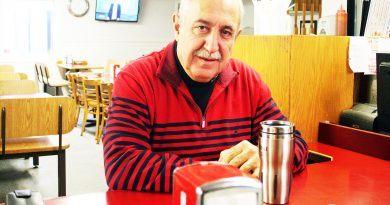 A photo of Eli El-Chantiry at the Lighthouse Restaurant.
