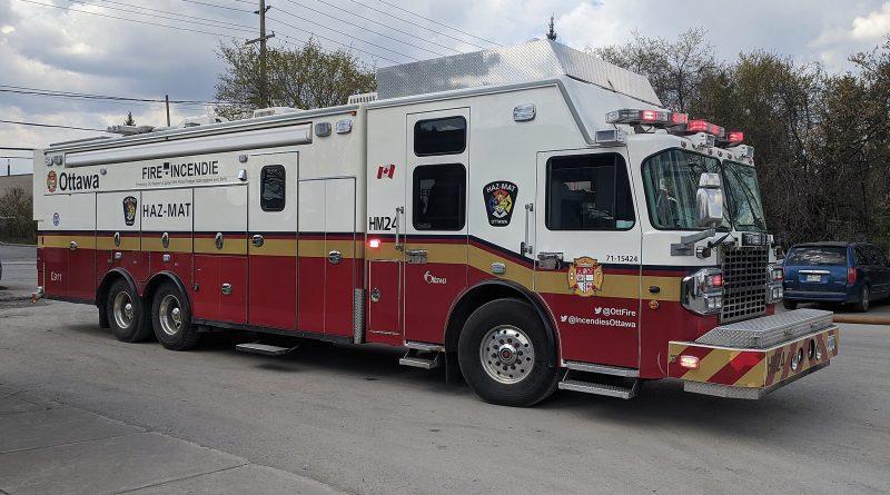 An OFS fire truck.