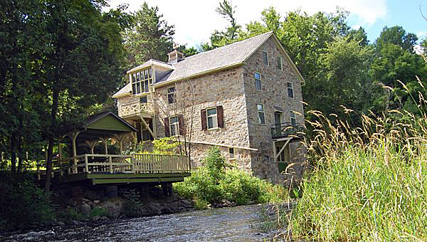 A photo of the Mill of Kintail Museum.