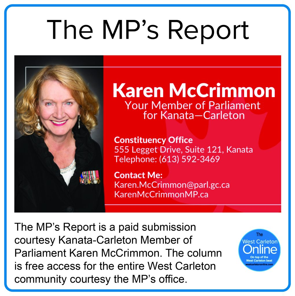 The MP's Report column header.