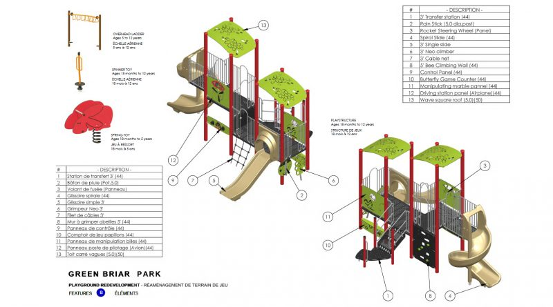 An image of a park playground concept.