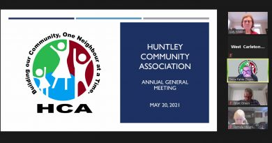 A screengrab of the HCA's agenda from Thursday's meeting.